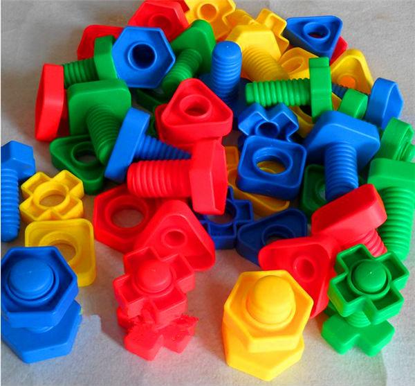 El tornillo de pl stico de juguete para ni os de edad 3 6 for Juguetes de plastico