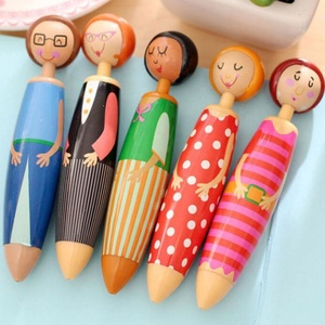 Cute Cartoon Ballpoint Pen Stationery Gift High Quality Writing Pen Promotion SH0711