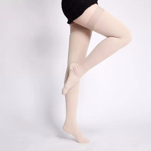 Hot Sale Medical Elastic Anti Slip Compression Stockings to Prevent Varicose Veins