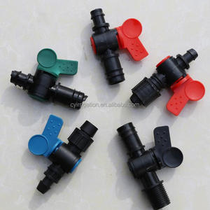 drip tape accessories for farm irrigation system / pipe fitting tools name