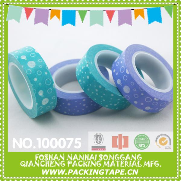 Custom printed light packaging office use invisible stationary tape sale promotion