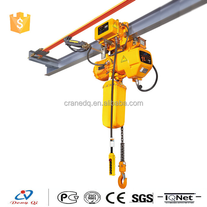 Mini electric motor lifting cranes 1 ton electric chain for 1 4 ton chain motor