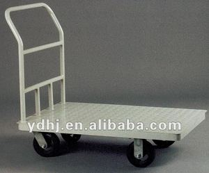 Hot Selling Heavy Duty Unfolding Platform Cart/ Hand Truck With Four Wheels