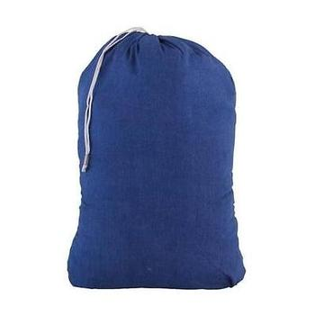 Large laundry bag clothes hamper drawstring bag cotton laundry storage bag