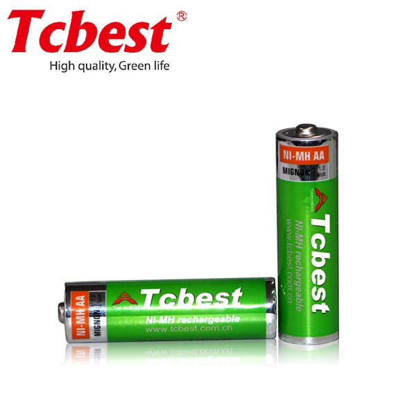 1.2v aa nimh rechargeable battery for hair trimmer/