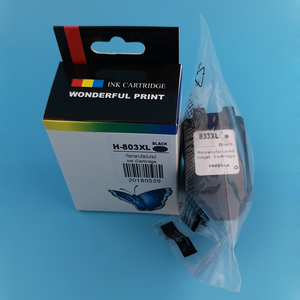 Factory price coffee printing refill printer ink cartridge 803XL 803 XL