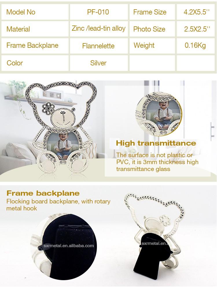 Baby Shower Souvenirs Zink-legierung Nette Baby Armband Bilderrahmen ...