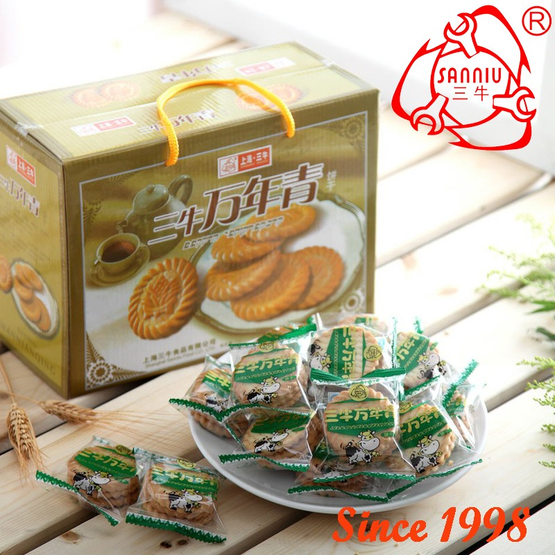 1000g Evergreen Biscuit From Sanniu Since 1998