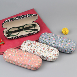 2019 New latest quality canvas glasses case optical case glasses case