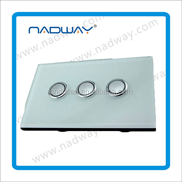 Many styles Wall socket with switch Nadway SAA approved