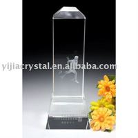 Irregularity 3D Laser Crystal Trophy