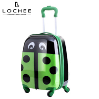 Ladybug Childrens Pattern Hard Child Roll Cheap Kid Design Luggage