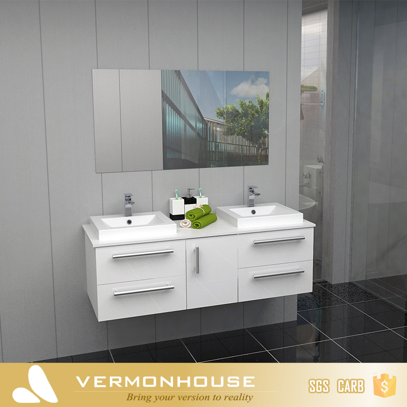 Vermont best sale white ready made bathroom cabinet white