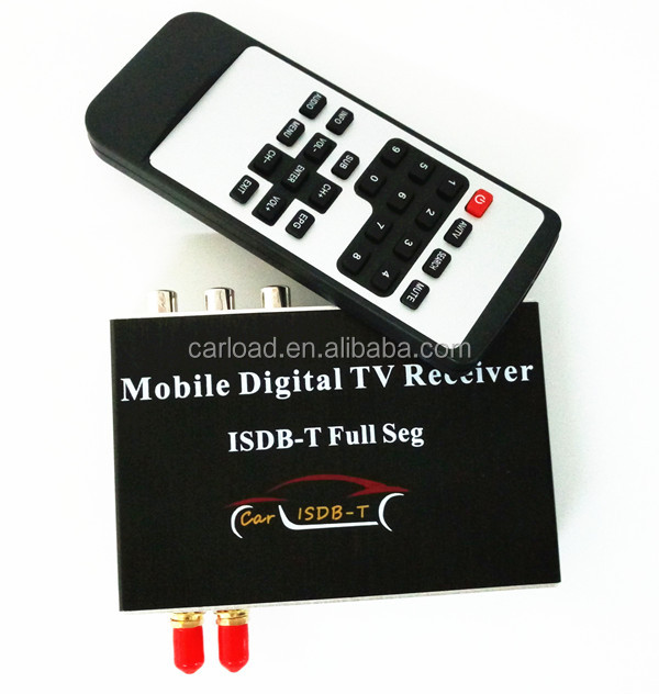 Car ISDB-T FULL SEG Digital TV receiver for Philpine/South Amercia