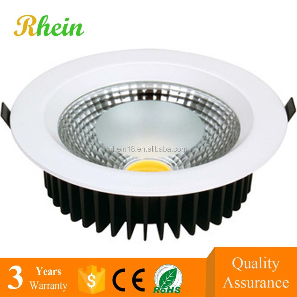 Residential and Commercial 7w 9w 10w 20w 30w COB LED Down Light price