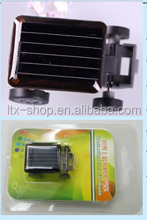 Hot sell mini solar products smallest car toy solar power car toys
