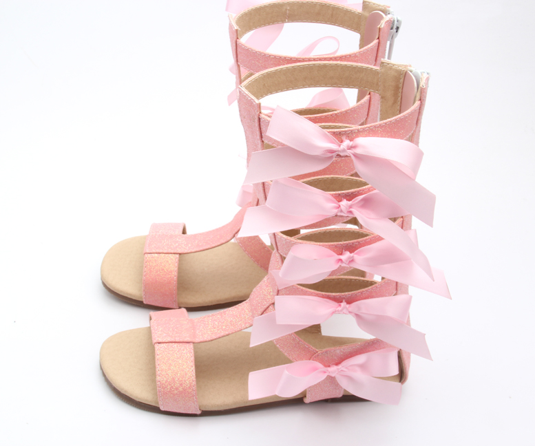 03b77084341e Beautiful Baby Shoes Pink Gladiator Sandals Girls Fancy Sandals ...