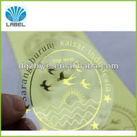 transparent paper sticker sheet,custom adhesive address sticker label printing