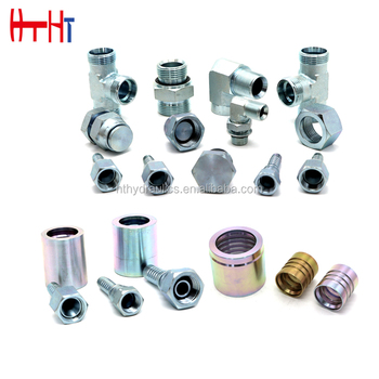 jingxian huatai Best sales high quality bsp jic hose pipe fittings hydraulic adapter plug