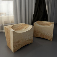 Square vintage design suar wood stool chair wood tree roots furniture wooden stool chair