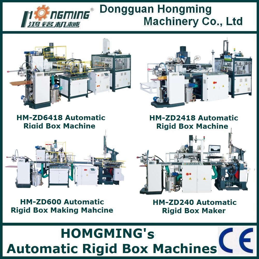 rigid box machine