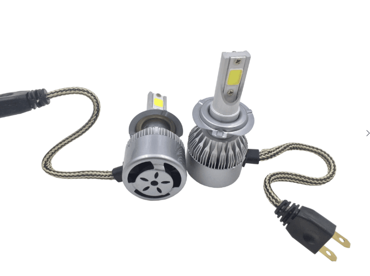 C6 all in one 9006 COB LED headlight kit auto LED bulb 36W 3800LM car headlight CE.ROSH,DOT approved