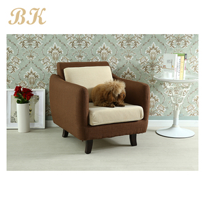 Living Room Sofa Chair Wing Back Sofa Chair Fabric Arm Sofa Chair