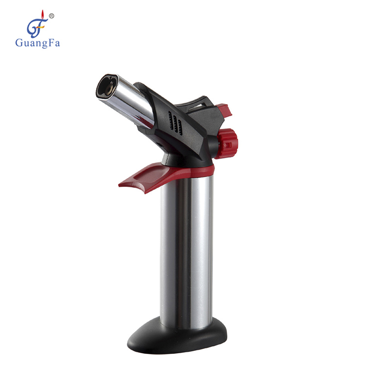 2019 Nuovo GF-8761 Cina commercio all'ingrosso di Gas Fiamma Jet Butano Torch Lighter