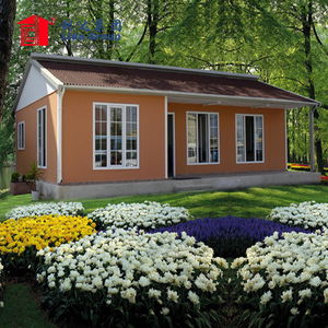 Beautiful Decoration External Panel Insulation Integrated Container House for Bungalow