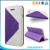 for ipod touch 6 case leather flip with stand and card slots luxury cell phone accessory