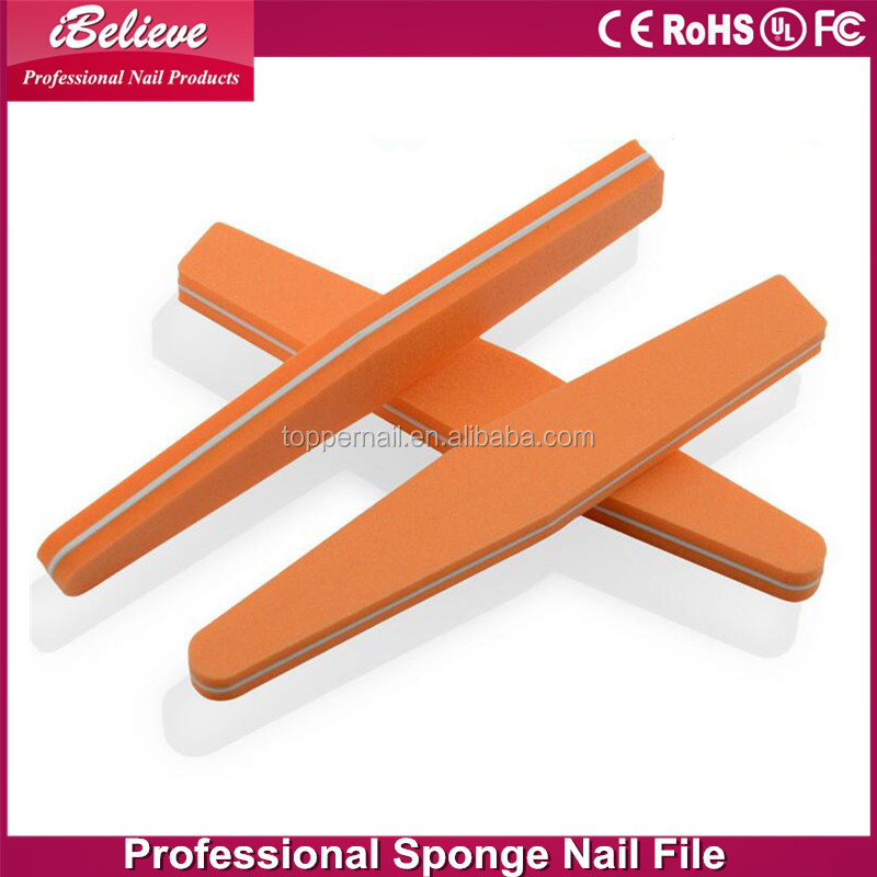 2016 double sides square sponge nail files display stand for nail art