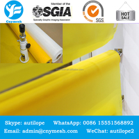 DPP61T / 155MESH - 64UM- White 200 mesh polyester screen printing cloth and 80t dpp polyester bolting cloth
