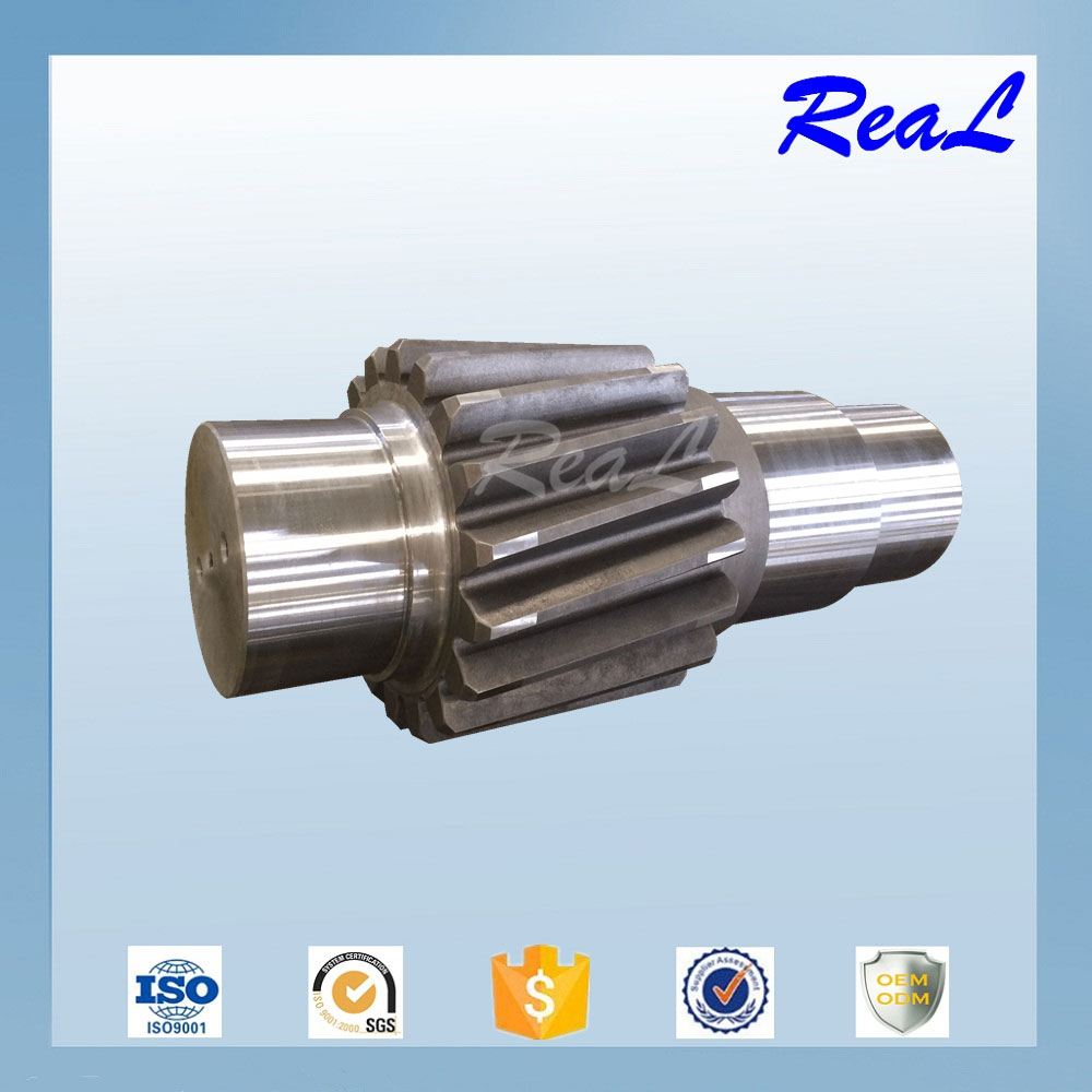 High Quality OEM CNC Machining Steel Gear Shaft