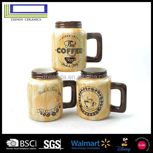 2017 Hight quality SGS standard porcelain mug ceramic coffee cup
