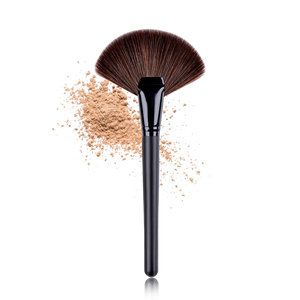 Factory wholesale price professional single big size makeup fan brush