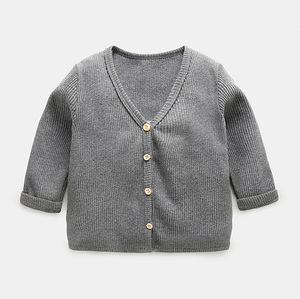 Newborn baby long sleeve cardigan coats