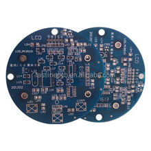 provide Immersion gold plating pcb Lead free FR-1 christmas tree pcb design