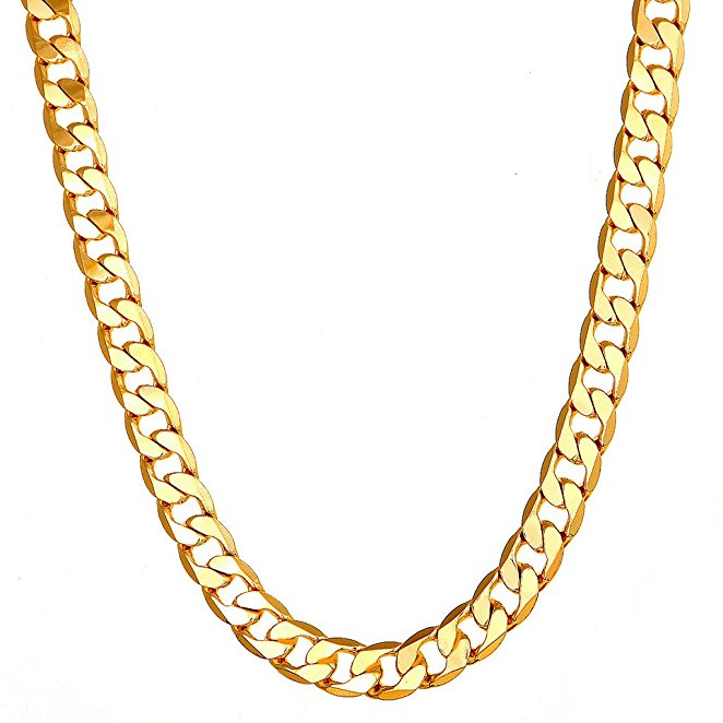 18k Gold Cuban Link Chain Necklace Men Gold Chains Buy Cuban Link Chain Necklace Men Gold Chains 18k Gold Necklace Product On Alibaba Com