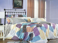 wholesale KOSMOS-100%cotton printed bed sheet set american size