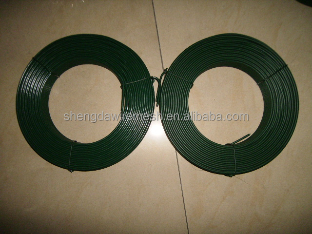 Plastic PVC coated galvanized iron wire with all kinds of colors