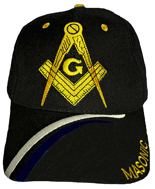 c61f1b0c Get Quotations · Buy Caps and Hats Masonic Baseball Cap Freemason Mason Hat  Mens One Size