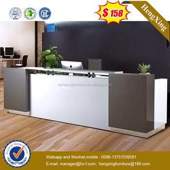 Standard Size Compeive Price Wooden Office Reception Desk Hx 8n1313