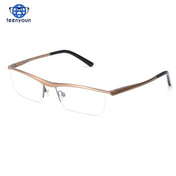 3c59b33740a7 Wholesale Brand Prescription Glasses Frames Aluminium Magnesium-Alloy Frame  Spectacle Eyeglasses optimum optical Myopia Glasses