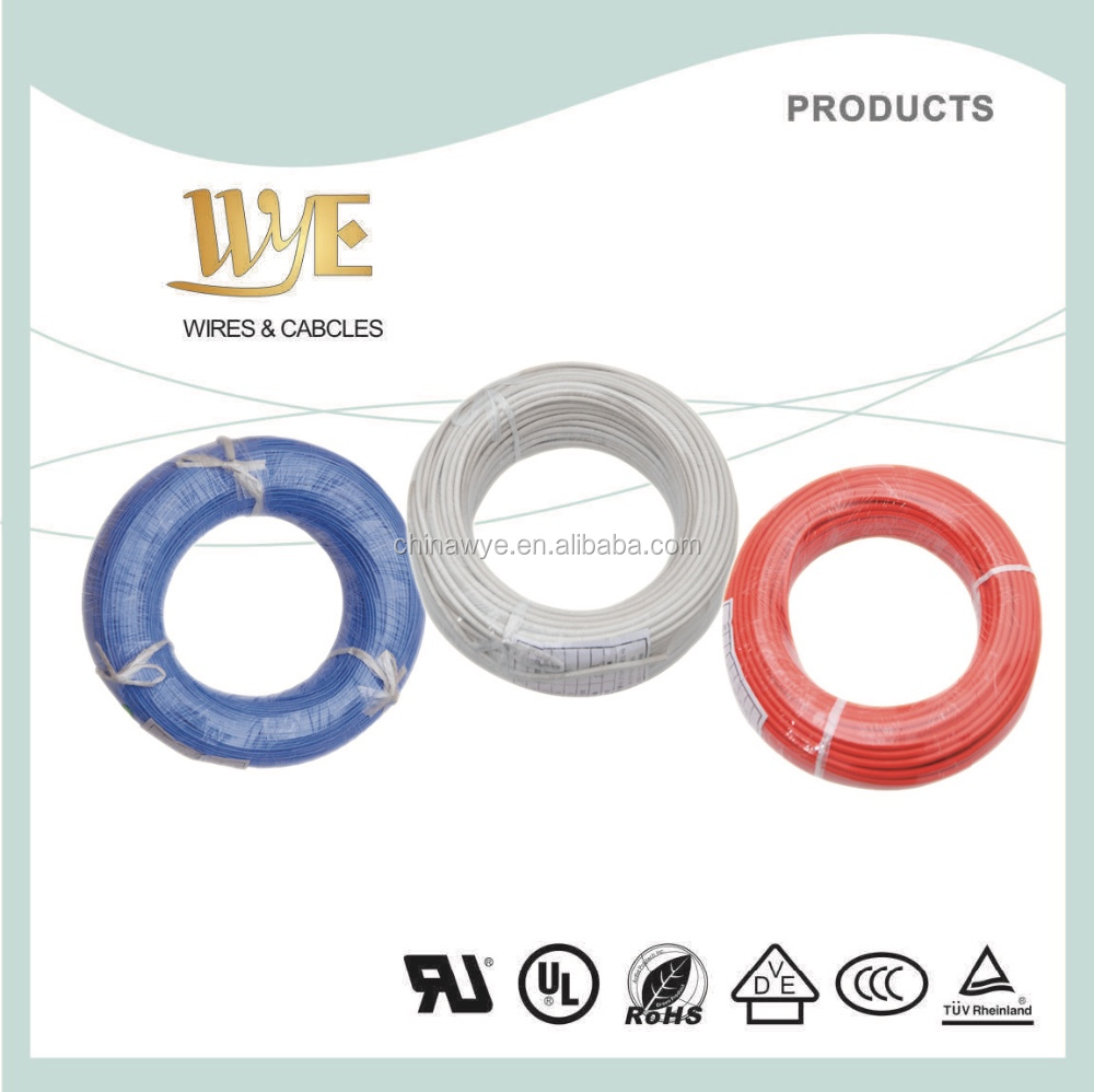 UL5107 nical coated fiberglass braid mica tape cable wire