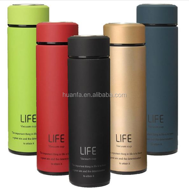 Wholesale Product Keep Hot And Cold Tea Filter Thermos Double Wall Hydro Flask Incsulated Stainless Steel Water <strong>bottle</strong>