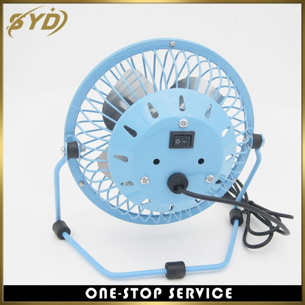 Cheapest price 4inch metal table fan mini OEM logo fan
