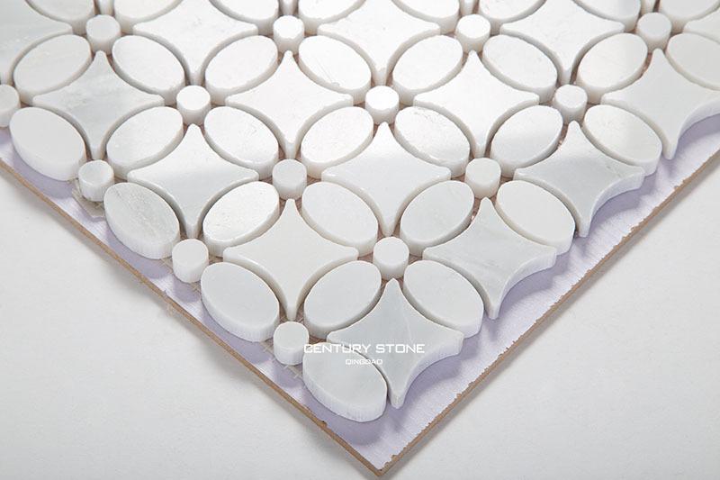 Hot Sale Cheap White Bianco Carrara Lantern Design Marble