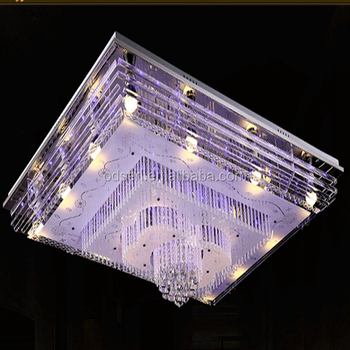 Bangladesh Chandelier Square Shade Remote Control Mp3 Crystal ...