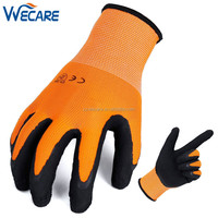13 Gauge Soft Foam Latex Dipped Construction Working Safety Hand Gloves