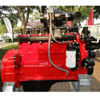 6 cylinder 100kw Water-cooled Cummins diesel engine marine 6BT5.9-GM136